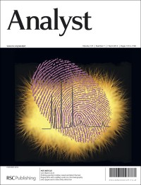 Analyst, 2012, Vol. 137, front cover, featuring work from Leon Barron