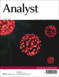 Analyst, 2012, Vol 137, Issue 13, front cover