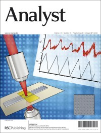 Analyst 2012, Vol. 136, Issue 17, front cover
