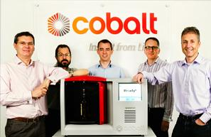 An image of the Cobalt Light Systems team