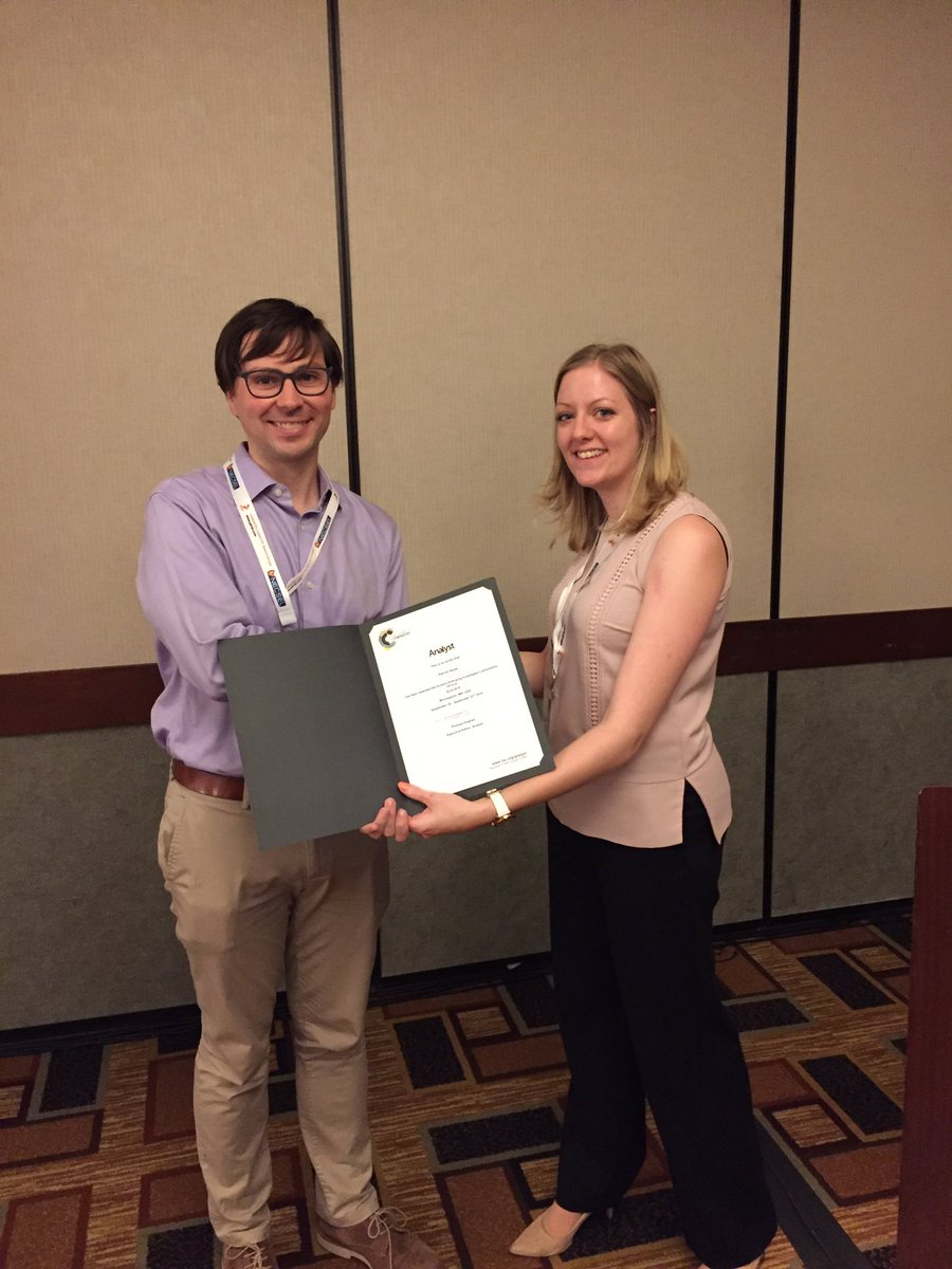 Patrick Hayes Awarded The Emerging Investigator Lectureship