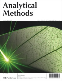 Front cover image, Analytioal Methods, Volume 4, Issue 2