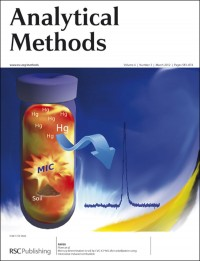 Analytical Methods, 2012, Vol. 4, Issue 3, inside front cover, feat. Erico Flores