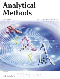 Analytical Methods, 2012, Vol 4, Issue 5, inside front cover