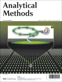 Analytical Methods, 2012, Vol 4, Issue 5, front cover