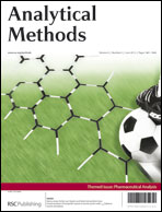 Front cover, Anal. Methods, 2012, Issue 6