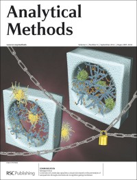 Analytical Methods, 2012, Vol. 4, Issue 9, inside front cover