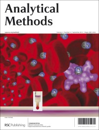 Analytical Methods, 2012, Vol. 4, Issue 9, front cover