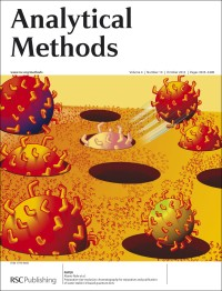 Analytical Methods, 2012, Vol. 4, Issue 10, inside front cover