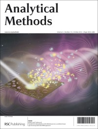 Analytical Methods, 2012, Vol. 4, Issue 10, front cover