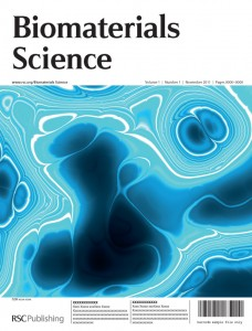 Biomaterials Science cover image