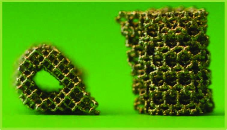 Porous titanium implants