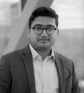 Profile picture of Arghya Paul (black & white)