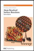 Atom Resolved Surface Reactions