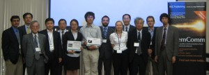symposium speakers, poster prize winners and chairman