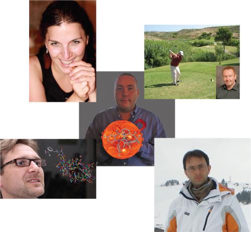 Syuzanna Harutyunyan, Charlie O'Hara, Fabrizio Mancin, Christian Hartinger and Daniel Mindiola