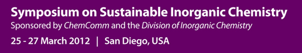 Sustainable Inorganic Chemistry Symposium