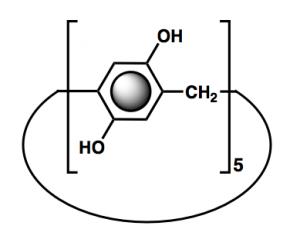 Pillar[5]arene structure