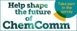 Shape the future of ChemComm