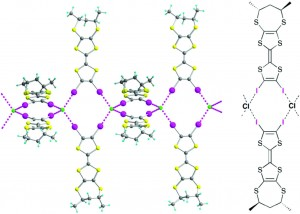 Toward chiral conductors: combining halogen bonding ability and chirality within a single tetrathiafulvalene molecule