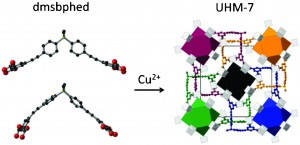 Linker extensions in metal–organic frameworks: a way to isoreticular networks or new topologies?