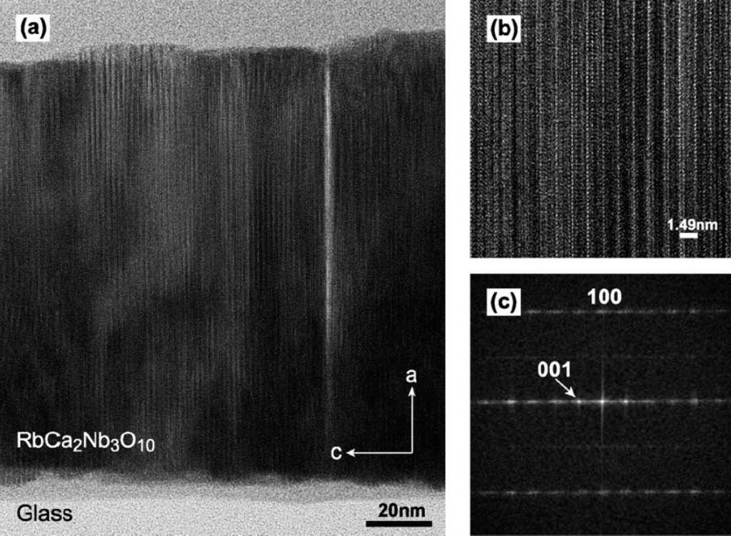 layered perovskite thin films