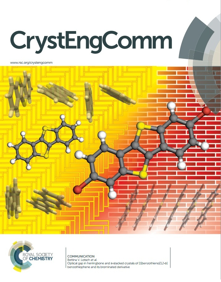 CrystEngComm cover
