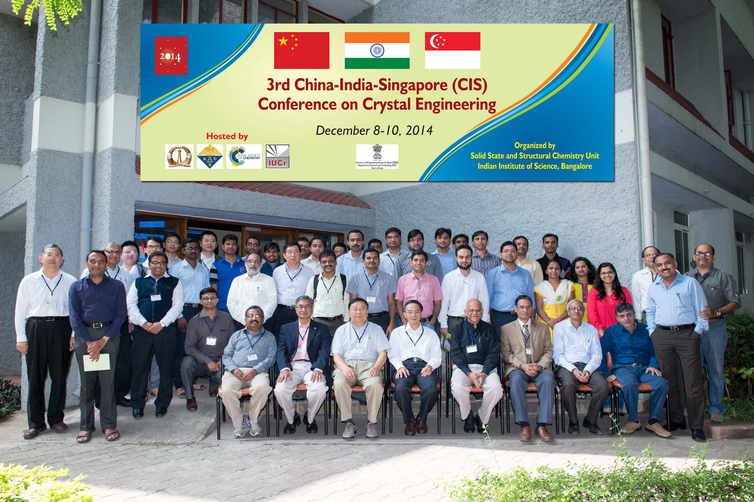 3rd China-India-Singapore (CIS) Symposium on Crystal Engineering