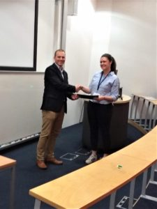 Georgia Scurfield, University of Oxford, CrystEngComm Poster Prize Winner
