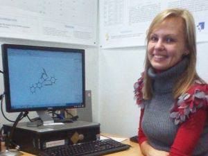 Julija Kezina - Southampton University intern who examined CIF to Mol conversion