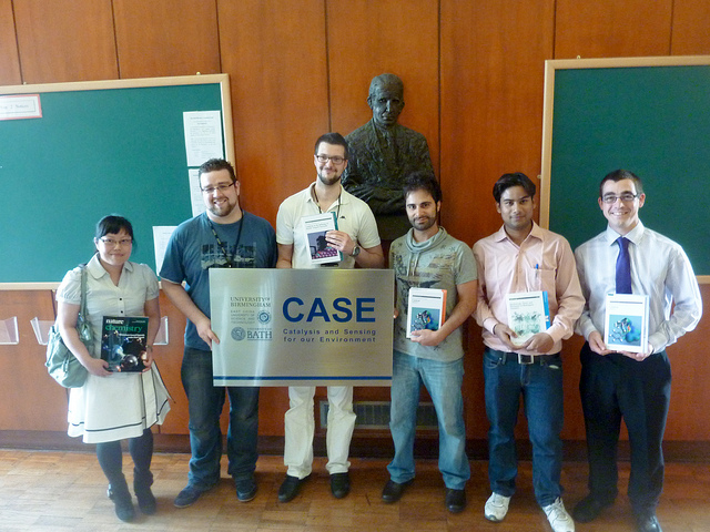 CASE prize winners