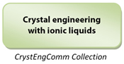 Crystal engineering with ionic liquids CrystEngComm Collection