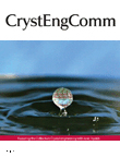 CrystEngComm journal cover image