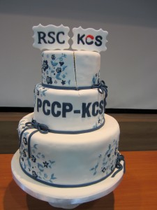 Photograph of KCS-PCCP celebration cake