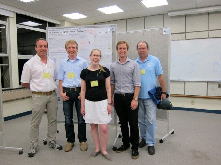 Young Investigator Competition winners at the Gordon conference on Dynamics at Surfaces
