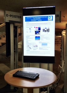 E-Posters at the ICC in Munich July 2012