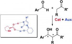 Chemoenzymatic synthesis of optically active 2-(2′- or 4′-substituted-1H-imidazol-1-yl)cycloalkanols: chiral additives for (L)-proline