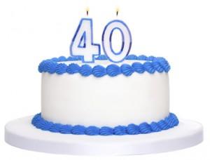 Dalton Transactions 40th Birthday Cake