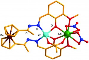 Ferrocene-based Compartmental Ligand for the Assembly of Neutral ZnII/LnIIIHeterometallic Complexes