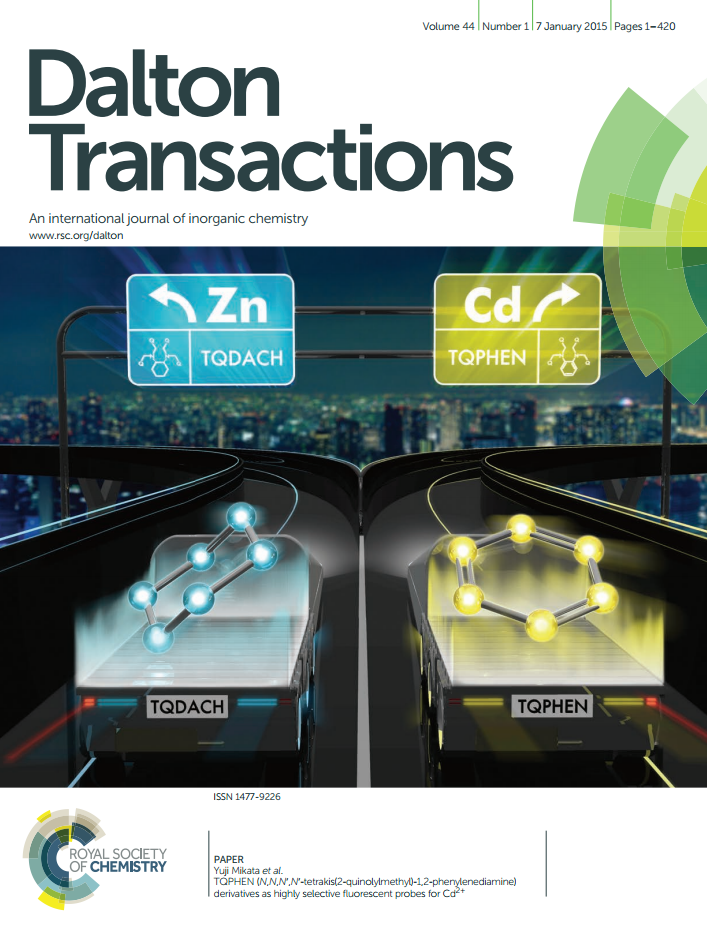 Dalton Transactions cover