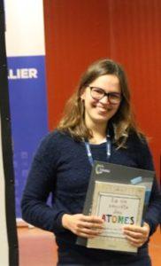 Ekaterina Mamontova, Université de Montpellier, Journées de Chimie de Coordination 2019