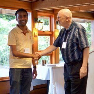 Soumalya Sinha, Dalton Transactions Poster Prize Winner at BCIDW