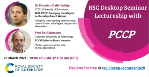 RSC Desktop Seminar Lectureship with PCCP