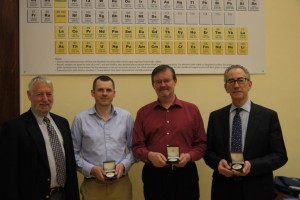 Faraday Division Awards Symposium prize winners