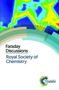 Faraday Discussions, Royal Society of Chemistry. Journal cover image.
