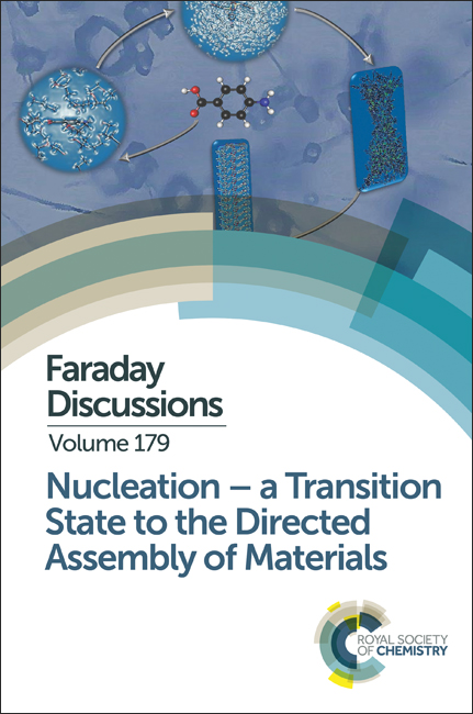Faraday Discussions cover image