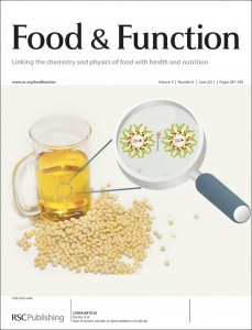 Food & Function Issue 6 Inside Front Cover