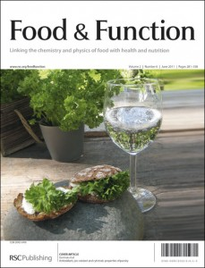 Food & Function Issue 6 Outside Front Cover