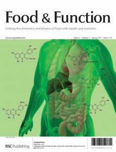 Food & Function Volume 2 Issue 1 cover