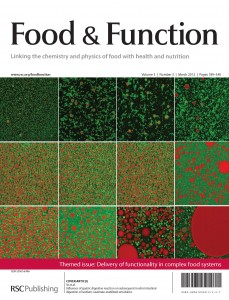 Food & Function issue 3 front cover